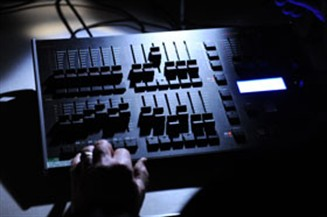 Solva mixing desk photo Pembrokeshire Photography